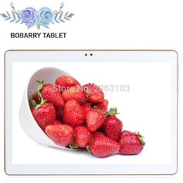 Tablet Inches Australia - Wholesale- 10.1 inch 3G 4G Lte The Tablet PC Octa Core 4G RAM 64GB ROM Dual SIM Card Android 5.1 Tab GPS bluetooth tablets +leather case