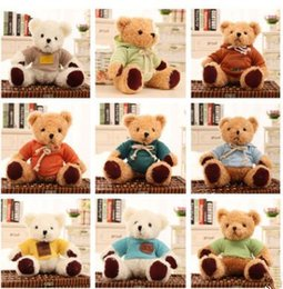 $enCountryForm.capitalKeyWord Canada - 25cm Kids Bear Plush Dolls Toy Baby Stuffed Bear Toys with Clothes Girl Boy Creative Christmas Party Gifts Toy ZXK 001