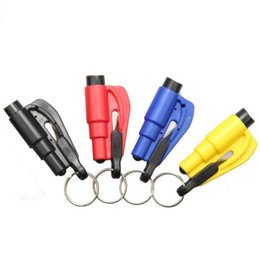Auto Escape Australia - Seatbelt Cutter Emergency Glass Breaker KeyChain Tool Smart AUTO Emergency Safety Hammer Escape Lift Save Tool SOS Whistle