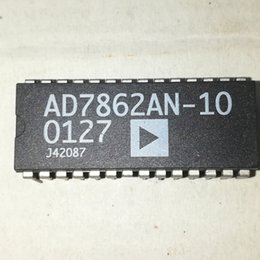 player ics NZ - AD7862AN-10 . AD7862AN   AD7862 . PDIP28 . dual in-line 28 pins plastic package   Electronic components   12-bit ADC integrated circuits ICs