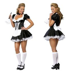 Livraison gratuite!! Fin Nite Maid Sexy Halloween Costumes Costume Party Femmes Cosplay Dress Wholesale Retail 2407
