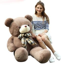 $enCountryForm.capitalKeyWord Canada - New stlyle TEDDY BEAR plush Dolls Big Teddy Bear Birthday Gift Plush Soft Toy 6 colour