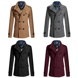 Discount Plus Size Double Breasted Pea Coat | 2017 Plus Size ...