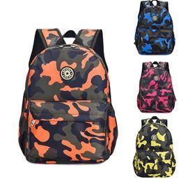 $enCountryForm.capitalKeyWord Canada - Student decompression waterproof Oxford boys and girls bag travel backpack camouflage travel kindergarten shoulder bag