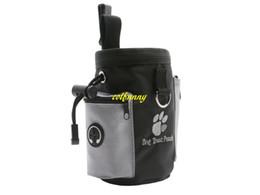 50 pz / lotto Veloce spedizione Cane Pet Puppy Obbedienza Agilità Bait Training Cibo Treat Pouch Bag Dispenser Snack Ricompensa Marsupio