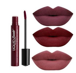 Hot Velvet Lips Canada - New Hot Sexy Moisturizer Waterproof Lipstick Glossy Makeup Long Lasting Matte Velvet Color Lip Gloss for Women Girls