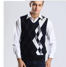 Discount Mens Wool Sweater Vest | 2018 Mens Wool Sweater Vest on ...