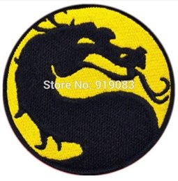 35 zht gear mortal kombat flawless victory yellow patch badge movie cosplay embroideried badge halloween costume