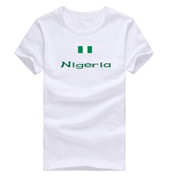 Win Shirt NZ - Nigeria T shirt Win honors sport short sleeve Contingent training tees Nation flag clothing Unisex cotton Tshirt