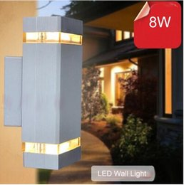 10pcs Lot Outdoor Wall Lamp Sconces Porch Light 8w Modern Led Wall Lamp  Light Exterior Waterproof Up And Down Side AC85 265V Supplier Exterior  Lighting ...