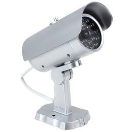 China 18 False IR LEDs Emulational Fake Decoy Dummy CCTV Camera with Red Blinking LED Light CCT_707 suppliers
