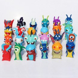 China 24 TYPE Slugterra Mini Figure Dolls PVC Plastic Action Figures Toys collectable Dolls minifigures Kids Children Chiristmas Gift 100164 suppliers
