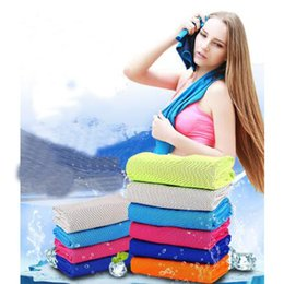 Double layer belt online shopping - Ice Towel CM Double Layer Ice Cooling Towel Cool Summer Cold Sports Towels Instant Cool Dry Scarf Soft Breathable Ice Belt Towel