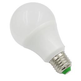 Smd Light Globe UK - E26 E27 5W LED 55W Equivalent Globe Ball Bulb SMD Energy Saving Light Household Lamp AC DC 12V-24V   AC 85V-265V No Flicker