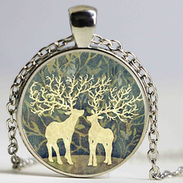 Easter gifts for teen girls nz buy new easter gifts for teen elk deer pendant necklace new punk round glass necklace elk deer necklaces for teen girls under 5 dollars negle Choice Image