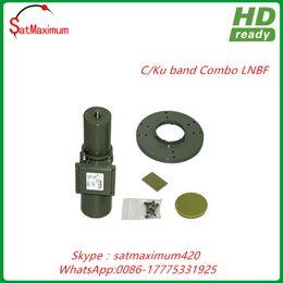 Venta al por mayor de Envío gratis C KU Band Combo LNBF - KU PLL 50KHz Estabilidad