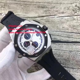 Marque De Style De Travail Pas Cher-3 Style de luxe de haute qualité Marque Watch N8 Factory 42mm en acier inoxydable en caoutchouc Bandes VK Quartz Chronograph Working Mens Watch Montres