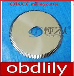 Cutter Precision NZ - Original Raise Tungsten steel double angle cutter -0014JC.C. milling cutter 217 100G2 precision key cutting machine locksmith