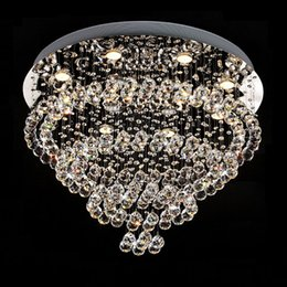 $enCountryForm.capitalKeyWord Canada - Modern Luster Crystal Chandeliers Ceiling Lighting Fitting Double Staircase LED Pendant Lamp For Foyer Dining Room Restaurant Decoration