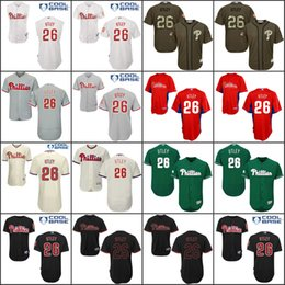 02301666cbb ... coupon code for flexbase cool base baseball mens philadelphia phillies  jersey 26 chase utley jerseys white