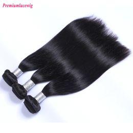 Malaysian Straight Hair 22 Inches Canada - Prida Star 4pcs lot Malaysian Natural Straight Human Hair Natural Color Hair Wefts of Hair Extensions Length 8-28 inch Instock