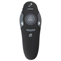 Usb Rf Remote UK - Wholesale- Promotion Hot Sale 2.4GHz USB 1.1 2.0 Wireless Presenter RF Pointer Pen Remote Control PPT Powerpoint Presentation Mouse