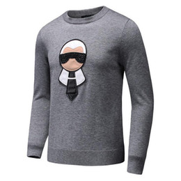 Winter nails online shopping - Nail bead galeries lafayette printing Winter Casual Sweater Brand Clothing Long Sleeve Mens Sweaters classic Shirt Pullover O Neck Knitwear