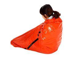 $enCountryForm.capitalKeyWord Australia - Repeated use Tearing resistance Outdoor emergency first aid sleeping bags Radiation protection adiabatic lifesaving sleeping bag PE orange