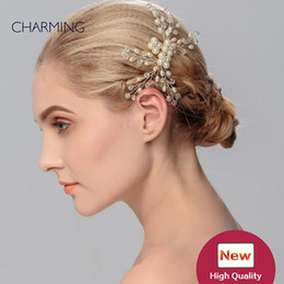 hair vine crystal NZ - wedding tiaras wedding accessories bridal headwear princess bride tiara hair accessories for girls wedding flower hair vines