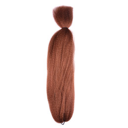 "China Wholesale 48"" braiding hair Kanekalon jumbo braids Fashion synthetic hair extension synthetic braiding hair more colors supplier braiding hair color 1b brown suppliers"