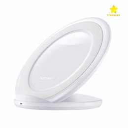 wholesale iphone cell phone docks Australia - Universal Wireless Charger Fast Charging Vertical Charging Pad Cell Phone Charger Dock For iPhone Samsung Galaxy S7