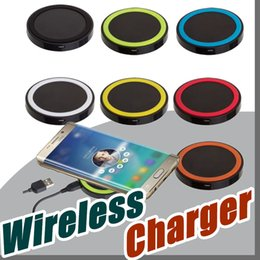 $enCountryForm.capitalKeyWord Canada - Factory Universal Q5 Charger Qi Wireless Power Charging Charger Pad kit For iPhone and for Samsung S6 DHL Free