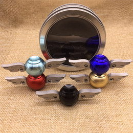 $enCountryForm.capitalKeyWord NZ - New Hand Spinner Cupid Angel Wing Fidget Spinner EDC Toys Aluminium+Stainless Steel Decompression Finger Gyro Toys with CE Mark DHL free