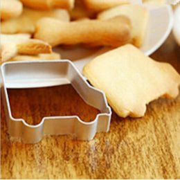 Toy Cookies Canada - Wholesale- 1pc Kitchen DIY toast tool Child Kid Toy Car bake cutter cake Cookie mold & biscuit Mould