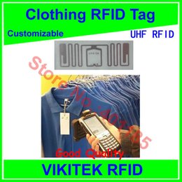 $enCountryForm.capitalKeyWord Canada - Wholesale- Clothing UHF RFID tag customizable 860-960MHZ 915M EPC C1G2 ISO18000-6C Impinj E53 can be made to be printable tag