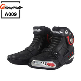 $enCountryForm.capitalKeyWord Canada - New Motorcycle short Boots Riding Tribe SPEED Moto Racing Motocross Motorbike boots Black White Red A009 shoes