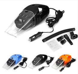 Car Dry Clean Canada - Wholesale- 2016 NEW Portable Car Vacuum Cleaner Wet and Dry Aspirador de po dual-use Super Suction 120W Car Vacuum Cleaner HEPA Filter