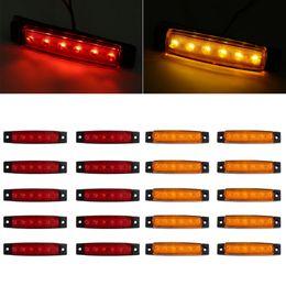 Side marker lightS online shopping - 10x LED Indicator Side Marker Clearance Light for Truck Van Caravan Lorry
