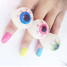 $enCountryForm.capitalKeyWord Canada - Halloween LED Flashing Soft Rubber Eye Ring Kids Toys Novelty Design Party Decoration Supplies Christmas Gift For Adults Child ZA2243