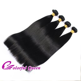 Human Hair Deep Wet Weave UK - Peruvian Virgin Hair Weaves 4pcs Cheap Peruvian Hair Bundles Wet Wavy Straight Body Wave Loose Deep Wave Kinky Curly Human Hair Extensions