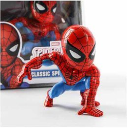 $enCountryForm.capitalKeyWord NZ - Spiderman Homecoming Car Decoration The Avengers Spiderman Action Figures Shook Head Cute Cartoon Figures Children's Toys For Sale