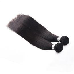 Grade Brazilian Hair Bulk UK - Brazilian Straight Virgin Hair Extensions Bulk 3 Bundles 7a Grade Unprocessed Virgin Human Hair Brazilian Remy Hair Straight Weave