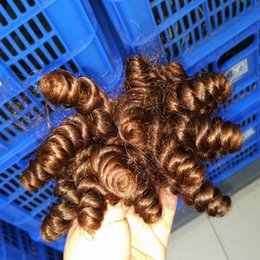 Wholesale Nice Short Kinky Curly Indian Human Hair Express shipping Unprocessed weave Bundles