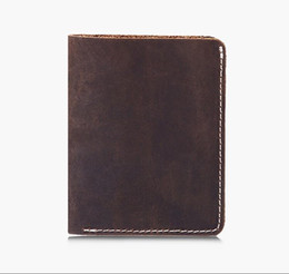 $enCountryForm.capitalKeyWord Canada - Vintage Top Quality Crazy Horse Wallets 100% Genuine Leather Wallet Men Purses Lether Wallet Carteira Masculina Cardholders