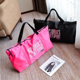Handtasche Pink Brief Reise Sporttaschen casual Tasche Mode große Tasche