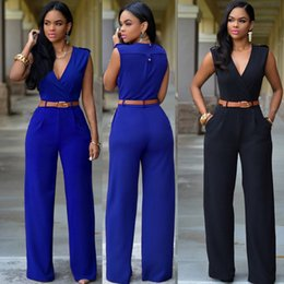 Wholesale Elegant Jumpsuit Summer Autumn Chiffon Jumpsuit Women Wide Leg Long Pants Jumpsuits High Waist Back Hollow Out Romper Overall