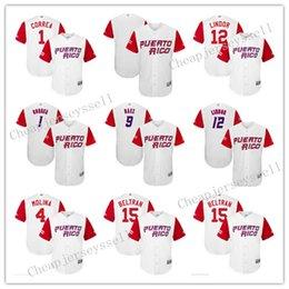 ce36fd59b0f ... cheap mens puerto rico baseball 1 carlos correa majestic white 2017  world baseball classic jersey 5cb10