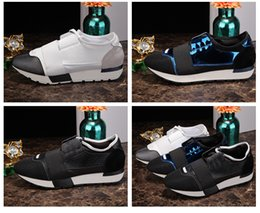 $enCountryForm.capitalKeyWord Canada - 2017 Name Brand Women Men Patchwork Black White Blue Casual Shoes Outdoors Good Quality Fashion Patchwork Leather Unisex Runner Shoes