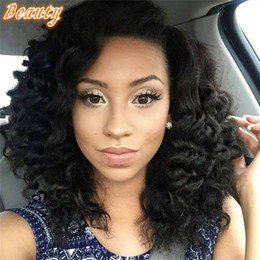 Discount long black curly hair weaves 2017 long black curly hair peruvian deep curly full lace wig with baby hairfull lace human hair wigs for black women curly weave human hair wig pmusecretfo Images