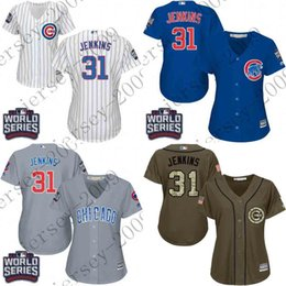 a3fe9d41 ... Grey 1968 Retro Cooperstow Shirt Stitched MLB Baseball ... women world  series patch 31 fergie jenkins chicago cubs baseball jersey stitched size .